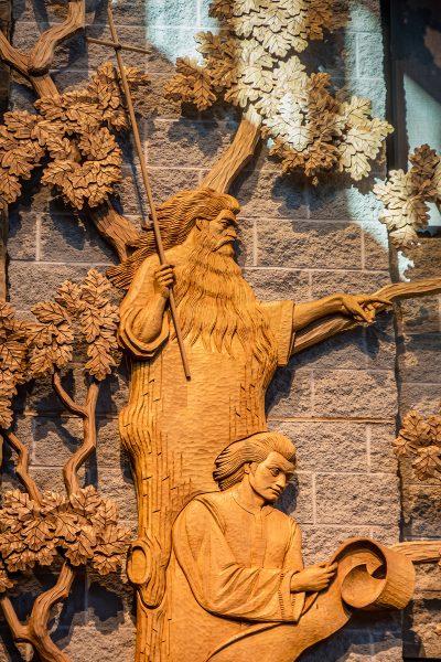 St Mary Magdalene Waupaca Isaiah and John the Baptist