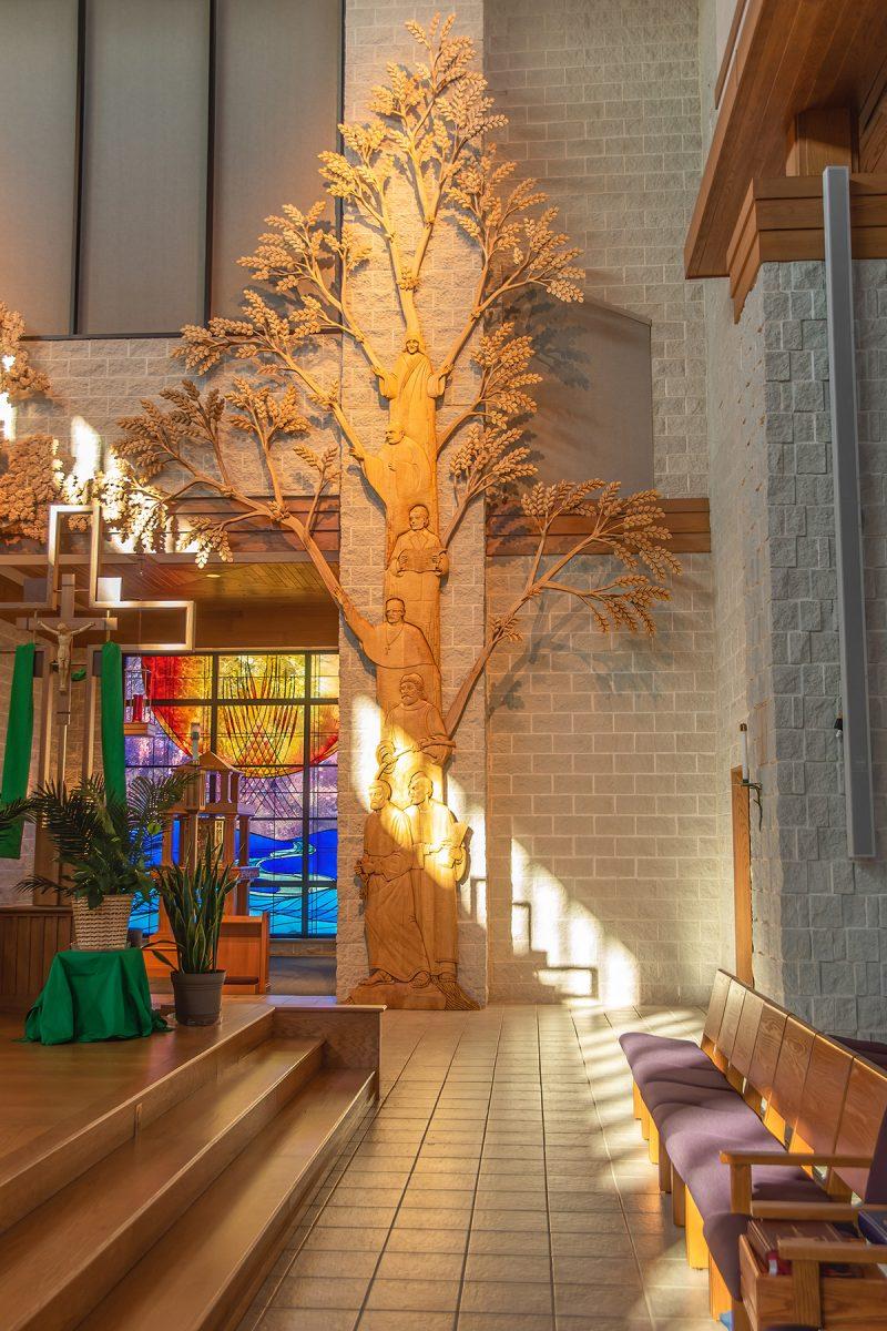 St Mary Magdalene Waupaca Tree of Christ