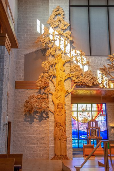 St Mary Magdalene Waupaca Tree of Judea