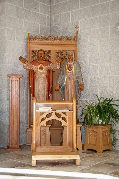St Mary Magdalene Waupaca Sacred Heart Shrine